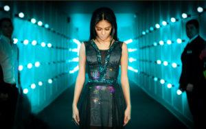 Twitter Dress worn by Nicole Scherzinger