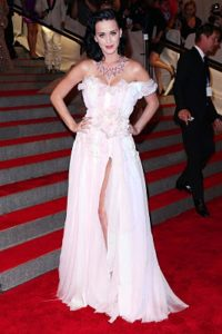 Katy Perry MET Gala red carpet