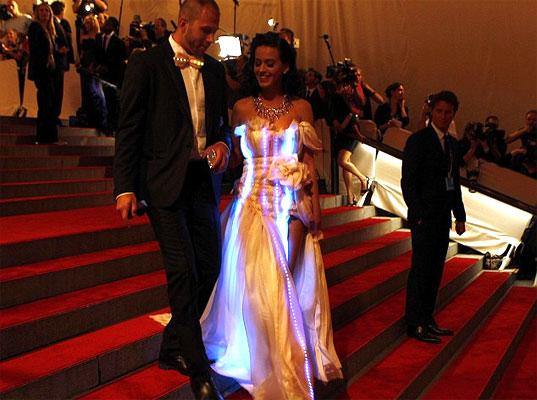 Katy Perry and Johnny Wujek MET Gala red carpet
